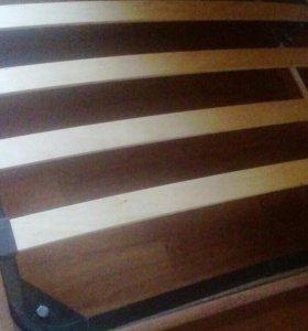 Кровать 1,5 спальня с матрасом. Новая.