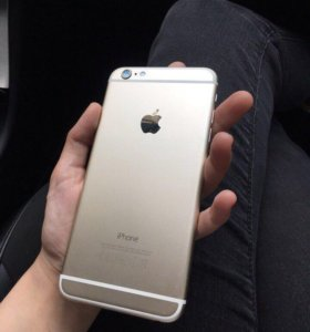 iPhone 6+ (plus) Gold, (айфон 6 плюс)