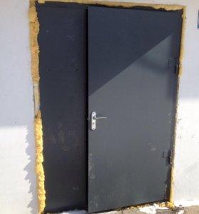 Изготовим и установим металлическую дверь