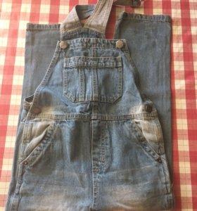 джинсовый комбинезон рост 122 из Германии