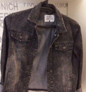 Женская джинсовая куртка 'джинсовка'