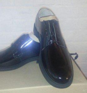 Ботинки под офисную военную форму
