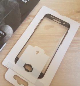 Защитное стекло для Samsung S7 edge