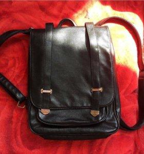 Рюкзак кожаный(кожзам)