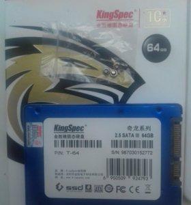 SSD KingSpec 64gb 2.5