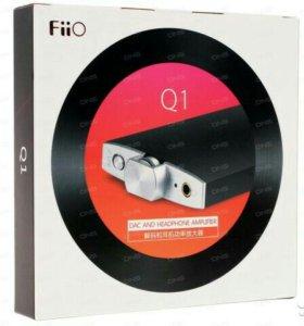 Цап + Усилитель для наушников fiio q1