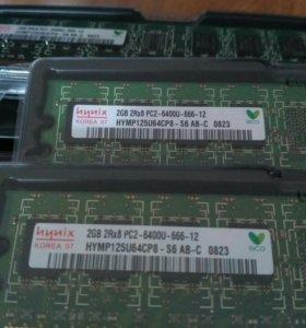 Оперативная память DDR2 800 Mhz 2 GB