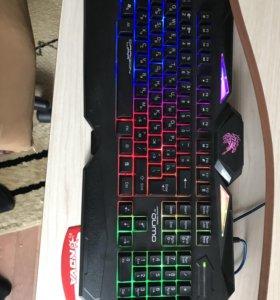 Игровая мышь и клавиатура