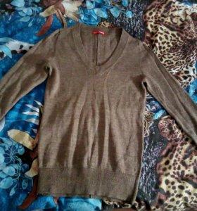 Бежевая кофта\блуза