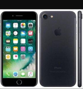 Айфон 7 на 128 гб чёрный
