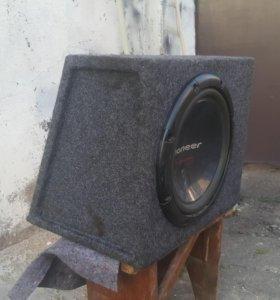 "Сабвуфер Pioneer TS-W310(12"") 1000W"