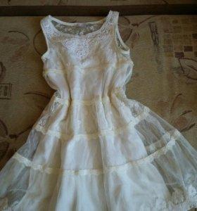 Новое платье,Майорал(Италия),на 6-9 лет
