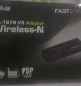 Wifi адаптер asus wl-167g v3