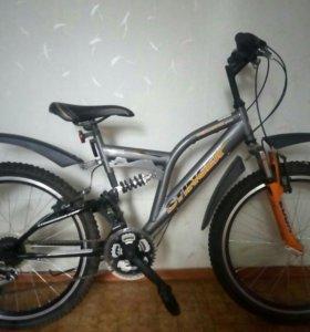 Велосипед горный подростковый
