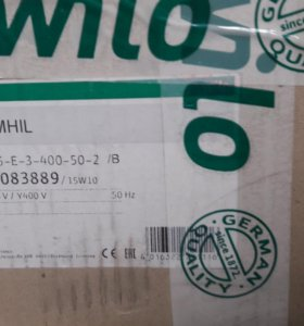 Wilo-Economy Mhil 105 НАСОС