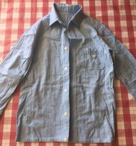школьная рубашка р 116