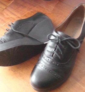 Туфли новые, натуральная кожа