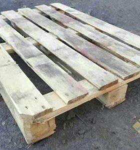Поддоны б/у 1200-800. 2 сорт деревянные