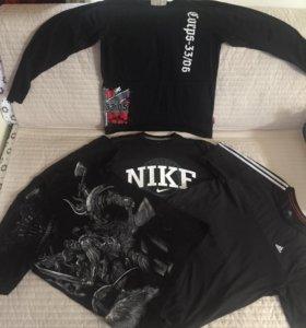 Джинсы, футболки, кофта, спортивный костюм, б/у.