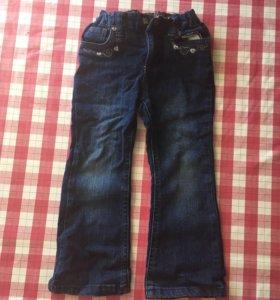 джинсы из Германии рост 98, 2 штуки