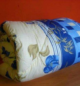 Тёплое одеяло из синтепона