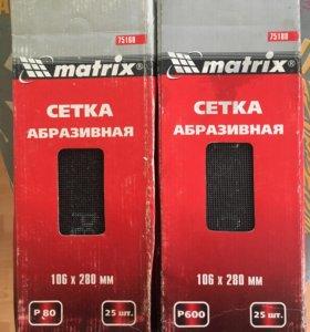 Абразивная сетка matrix P600 106x280 мм