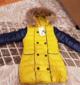 Куртка на девочку, зима.
