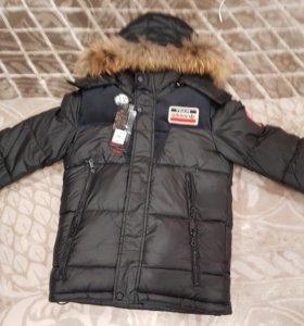 Куртка на мальчика, зима.