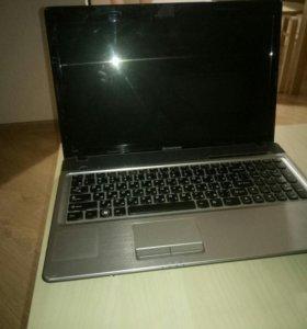 Ноутбук lenovo z560