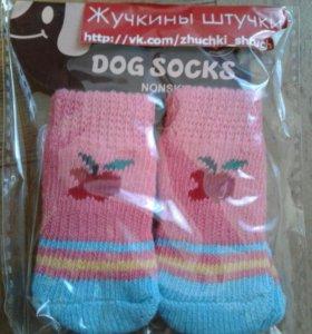 Носочки для маленьких пород собак