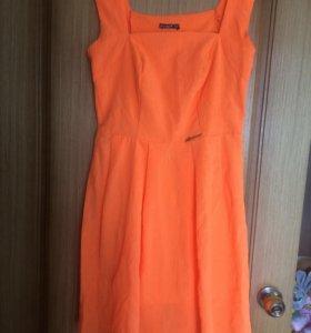 Обворожительное ярко-оранжевое платье ✨🍭