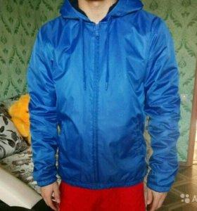 Куртка адидас (двухсторонняя)