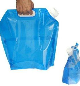 Канистра контейнер для воды 5л синяя