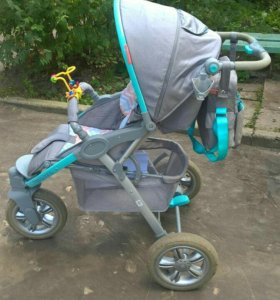 Коляска Happy Baby Neon Sport Blue