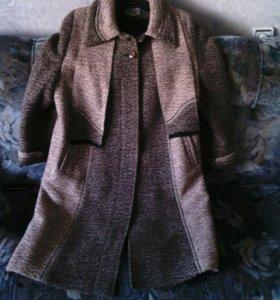 Пальто женское демисезонное 58 размер