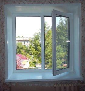 Пвх окно Рехау Сиб 1200х1400