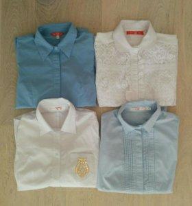 Школьные блузки р.40-42