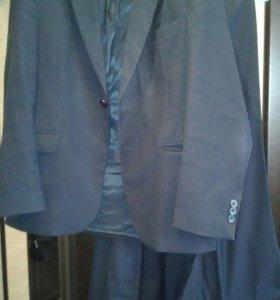 Темно-синий костюм + брюки