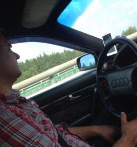 Водитель на личном авто