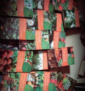 Продам комплект книжек за уходом в саду