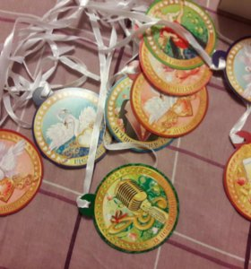 Продам медальки для свадьбы