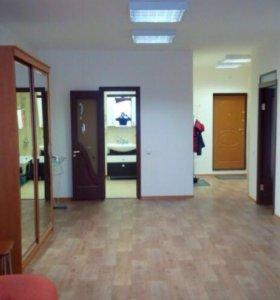 Квартира, 1 комната, 66.1 м²