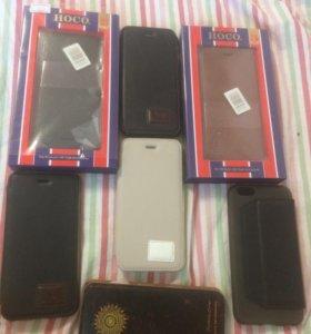 IPhone 6 фирменные чехлы HOKO кожаные