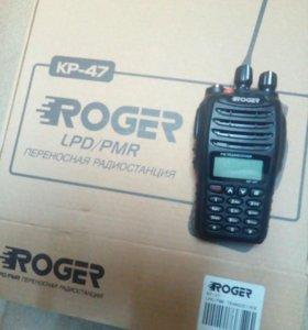 Рация roger-kr47
