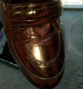 Ботинки осень р39