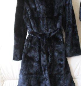Норковая шуба модель пальто