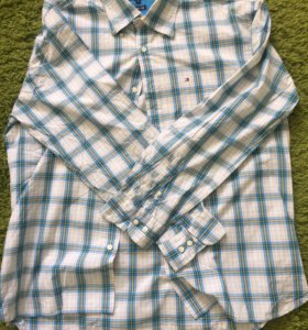 Tommy Hilfiger рубашка в клеточку (оригинал)