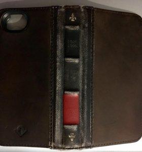 Кожаный чехол twelve south bookbook iPhone 5 5s se