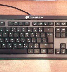 Игровая клавиатура cougar 200K