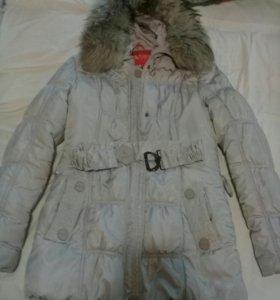 Пуховик зима 42